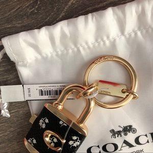 Coach Accessories - NEW COACH KEYCHAIN CHARM